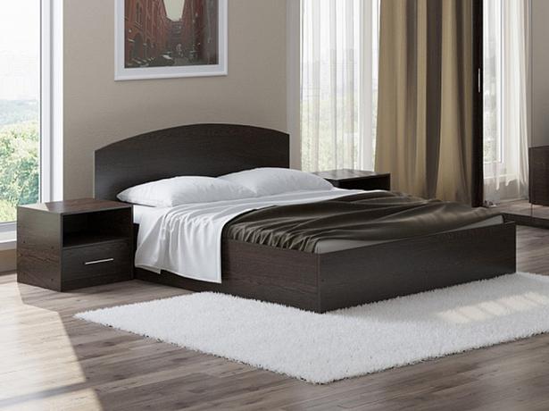 Кровать Этюд с подъемным механизмом венге