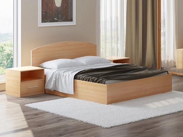 Кровать Этюд с подъемным механизмом бук