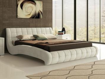 Кровать Nuvola 1 в ткани