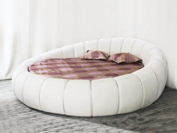 Круглая кровать Berta SoftWall