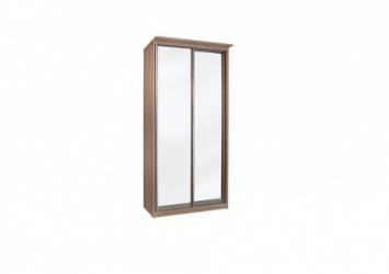 Шкаф купе Эконом 2-х дверный с зеркалами